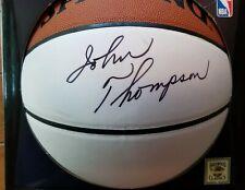 John Thompson autographed basketball Georgetown Hoyas JSA coa