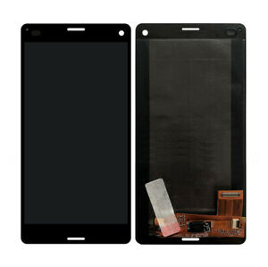 """For 4.6"""" Sony Xperia Z3 Compact D5803 D5833 M55w LCD Touch Panel Digitizer Black"""