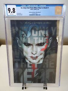We Only Find Them When They're Dead #1 Jenny Frison Trade Variant CGC 9.8