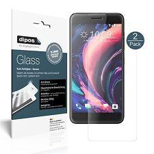 2x HTC One X10 Schutzfolie matt - Panzerfolie 9H Folie dipos Glass