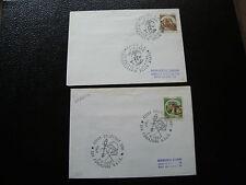 ITALIE - 2 enveloppes 1984 1985 (cy23) italy