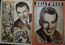 HOLLYWOOD N° 49/06.DIC.1947 Sett.le Cinematografico : FRED MacMURRAY- C.CALAMAI