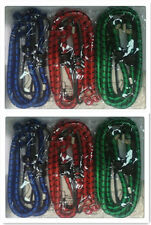 12x Bungee Cord Elastic  Luggage Straps Rope Hooks Stretch Tie Car Bike