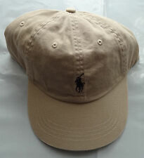 NWT New Polo Ralph Lauren Adjustable Strap Pony Logo Baseball Cap Hat 1 Size