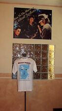 MICHAEL JACKSON SIGNED SHIRT EVENT COA