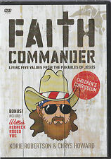 Faith Commander Children's Curriculum: Living Five Values from the Parables NEW