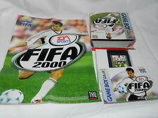 FIFA 2000  Nintendo Gameboy COLOR Cartridge OVP  TOP Zustand, inkl. Poster