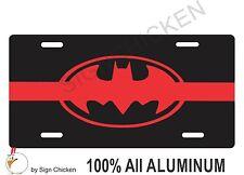 THIN RED LINE License Plate BATMAN fire truck BatMOBILE Gotham City FIREMAN