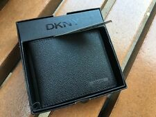 DKNY Men's Leather Wallet Black