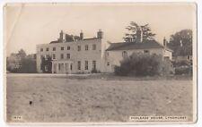 Hampshire; Foxlease House, Nr Lyndhurst RP PPC, 1956 Lyndhurst PMK, Faults