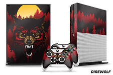 Designer Skin for XBOX ONE S 1S Gaming Console+2 Controller Sticker Decal DIREWF