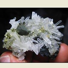 Quartz avec Sphalérite et Pyrite - Minéral naturel brut - 166,40 Carats - Brésil