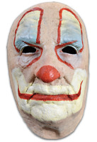 Trick or Treat Old Man Clown Face Scary Halloween Costume Accessory Mask CD101