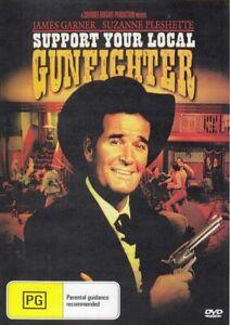 Support Your Local Gunfighter ~ James Garner (Region 4 DVD) *Free Postage*