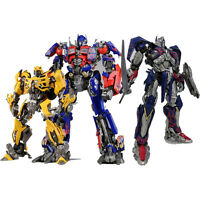 TRANSFORMERS Movie 1/35 Dual Model Kit Optimus Prime Bumblebee PRE-PAINTED NEW