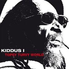 KIDDUS I - TOPSY TURVY WORLD  VINYL LP  INTERNATIONAL POP  NEU
