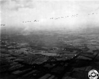 New 8x10 World War II Photo: Allied Airborne Command at Invasion of Netherlands