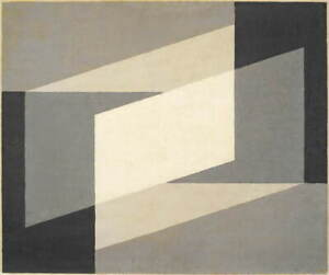Josef Albers Neither...Nor Poster Reproduction Paintings Giclee Canvas Print