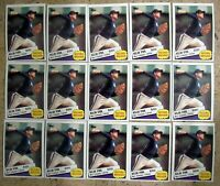1985 - Topps #7 - Nolan Ryan Astros HOF - 15ct Card Lot