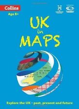 UK in Maps (Collins Primary Atlases) by Stephen Scoffham, Collins Maps (Paperback, 2014)