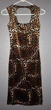 Propose USA Women's Animal Print WILD Lightweight DRESS Size SMALL  NWT