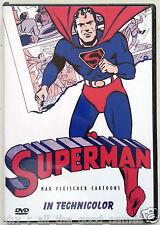 [003] SUPERMAN Original Fleischer Cartoons 2 DVD Set 1940's