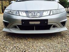 Honda Civic Mugen FN, FN2, FK Front Lip/Splitter/Valance 2006-2011 - Brand New!