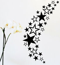 85 Sterne Star Auto Aufkleber Set Sticker Tuning Shirt Stylin Wandtattoo Tribel0