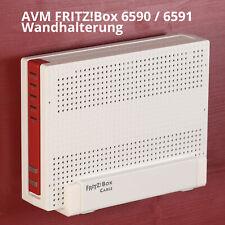 Router Wandhalterung AVM FRITZ!Box 6590 und 6591 Cable - 2 Wandhaken - TOP