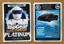 Misc - Top Gear Limited Edition Single Platinum Car Cards - Various Models