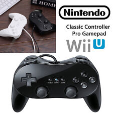for Retro Wii Wii U PRO Classic Remote Controller Gampad GamePads Joystick US