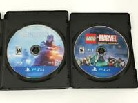 PLayStation 4: Lot of 2 Games  (PlayStation 4) PS4  Game Discs Only.       B-06