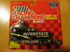 1/87 Interstate Trailer Freight Service and Trailer truck with race car