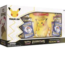 More details for pre order - pokémon tcg: celebrations premium figure collection pikachu vmax ⚡️