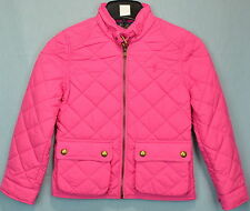 Ralph Lauren Girls' Diamond Quilted Jacket size L (12-14) Madison Pink NWT
