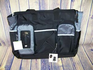 Graco Smart Organizer Onyx Collection Diaper Bag New With Tags