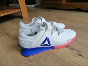 Reebok Legacy Lifter Mens Weightlifting Shoes - White uk size 11 CrossFit