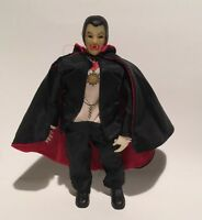 "Universal Monsters Remco Dracula 9"" Action Figure Doll Vintage"