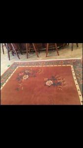 Vintage asian rug