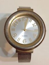 Accutime Ladies Gold And Silver Tone Working Quartz Watch