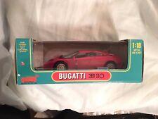 ANSON 1/18 - 30303-W BUGATTI EB 110  RED ''NEW''SEALED''MINT''CLASSIC CAR OWN IT