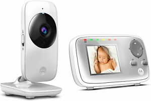 Video Baby Monitor Motorola MBP 482 with 2.4 inch screen