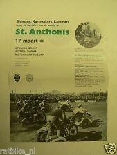38-ST-ANTHONIS MOTOCROSS MINI  POSTER 1968