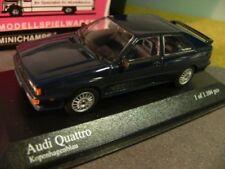 1/43 Minichamps Audi Quattro azul 1981 Copenhague azul