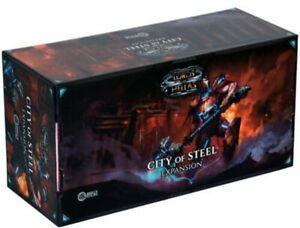 Lords of Hellas CITY OF STEEL Expansion Sundrop Awaken Realms SEALED NEW!!