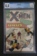 X-Men #8 CGC 5.5 1st App Unus the Untouchable