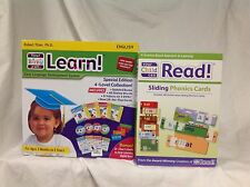 Your My Baby Can Learn / Read Vol 1-4 DVD, EXTRA SLIDING PHONICS CARDS ~ NEW