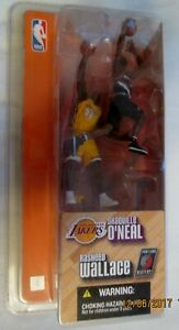 Mcfarlane Shaquille O'neal  and Rasheed Wallace 2 Pack 3 inch, NEW.UNOPENED