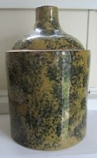 Stoneware Spongeware Jug   C - 1910 - Probably Ohio