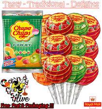 Chupa Chups Assorted Fruit Flavour Lollipops